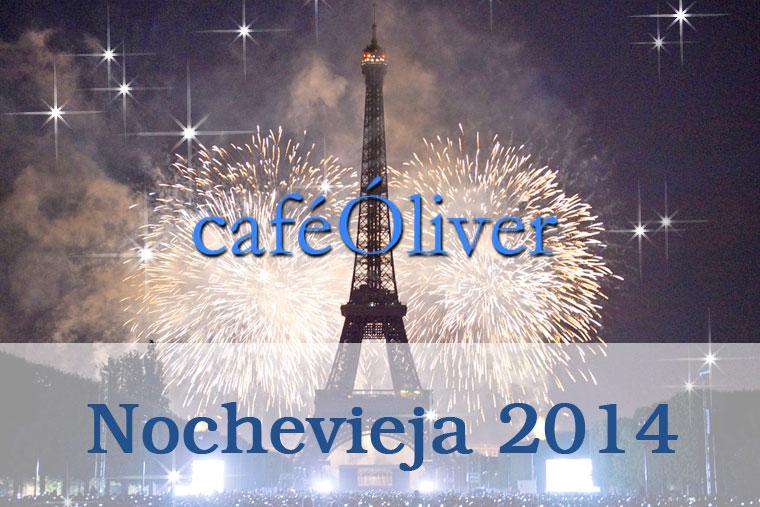 Celebración de Nochevieja 2014 en Café Oliver Madrid