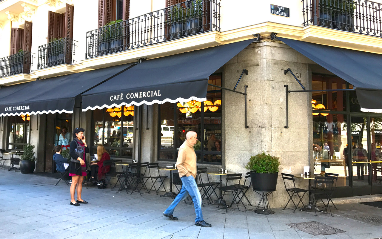 Brunche Café Oliver en Café Comercial Glorieta de Bilbao