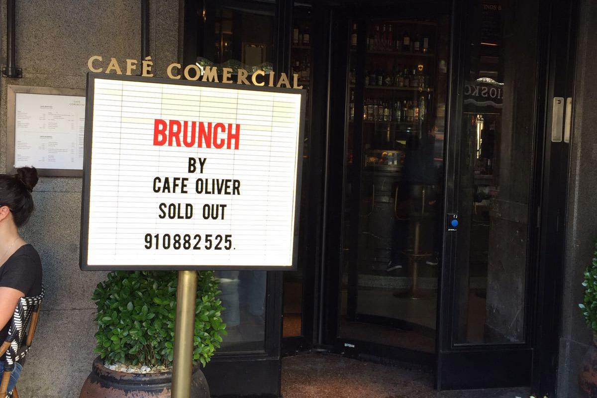 El mejor brunch de Madrid en el Café Comercial